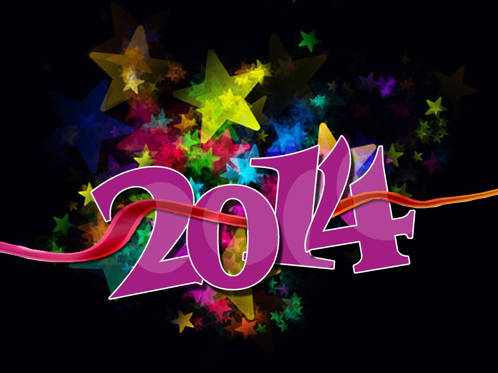 2014 new year wallpaper free download
